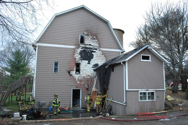 Spring Grove house fire