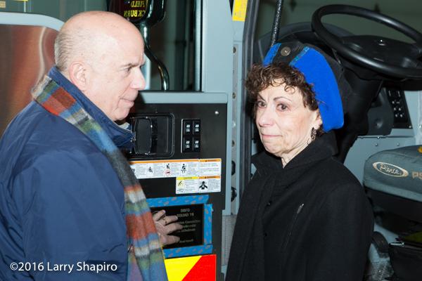 parents adorn dedication plaque to new fire engine