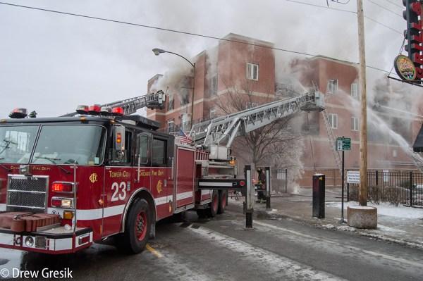 Chicago FD Tower Ladder 23