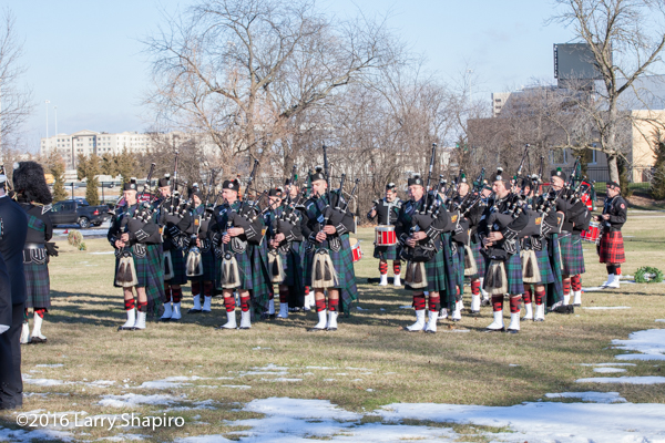 IAFF fire department pipe and drum band