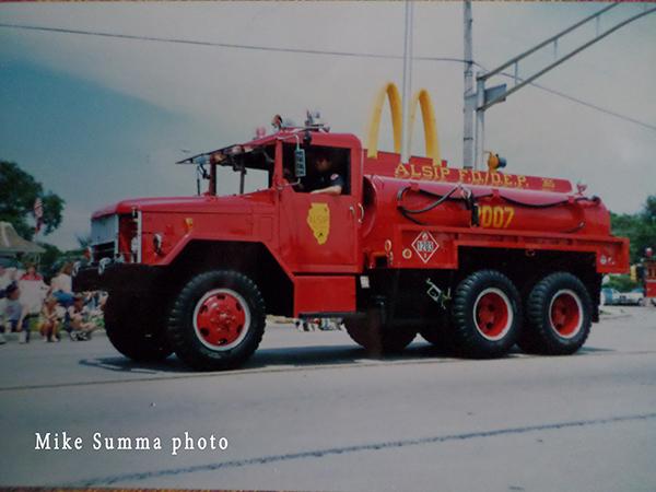 Alsip Fire Department history