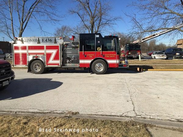 Glenwood FD fire engine