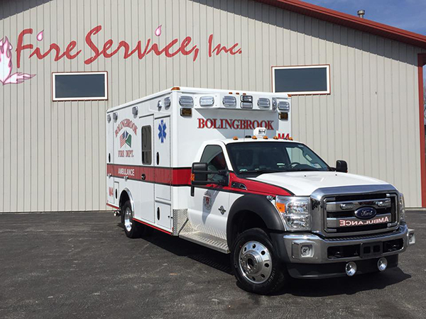 Bolingbrook FD ambulance
