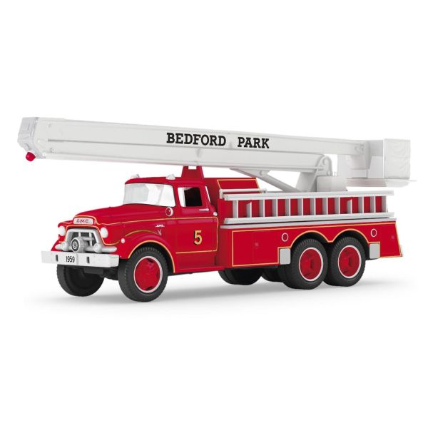 Bedford Park FD Snorkel featured for Hallmark ornament
