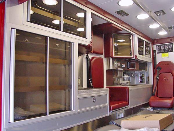 new ambulance interior