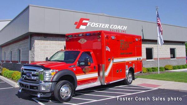 East Joliet FPD ambulance