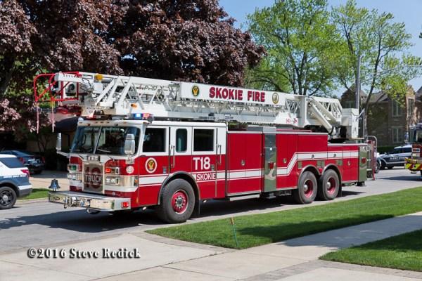 Skokie FD Truck 18