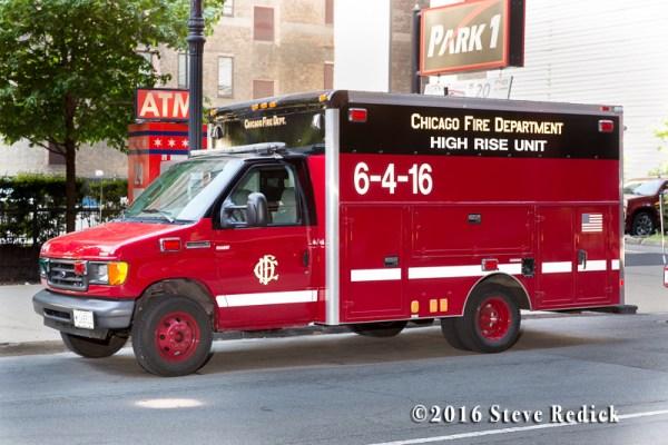 Chicago FD High-Rise Unit 6-4-16