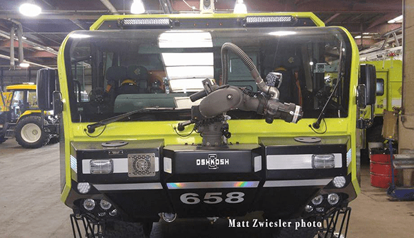 Oshkosh ARFF for O'Hare airport