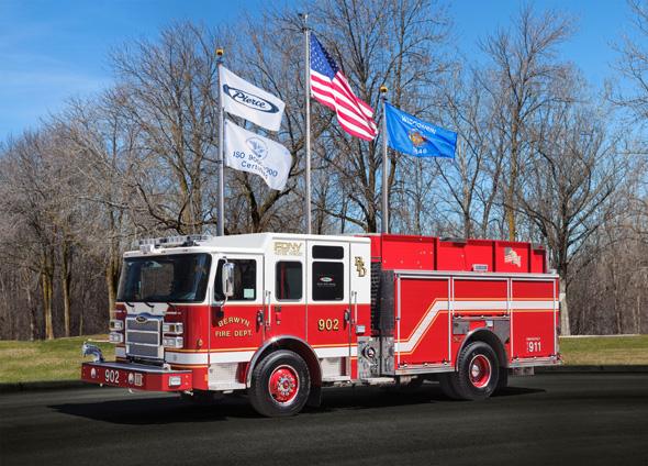 Berwyn FD fire engine
