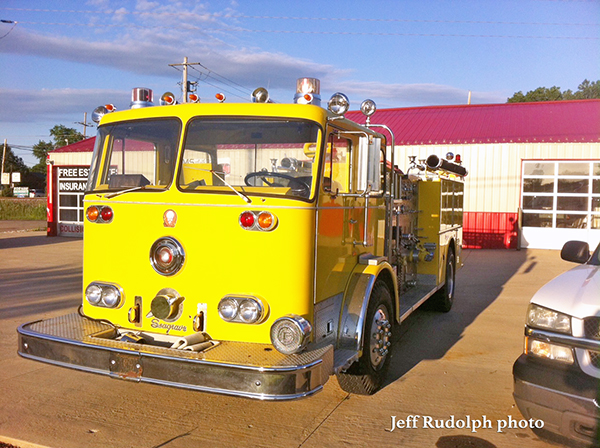 former McCook Fire Department Seagrave fire engine