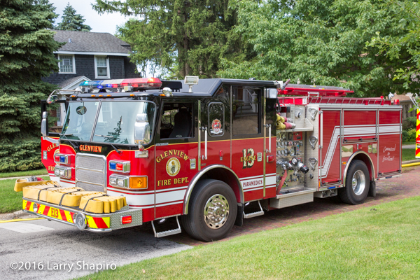 Glenview FD Engine 13 Pierce Enforcer