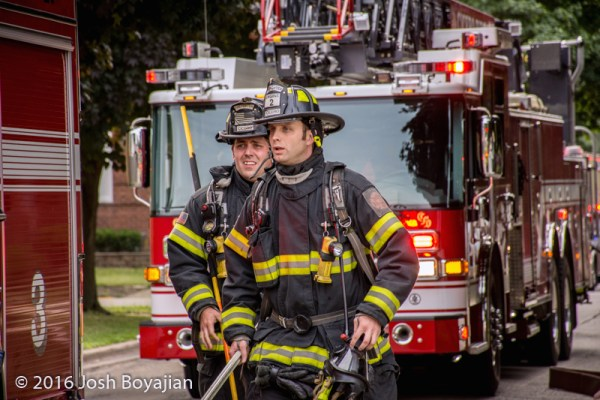 Cicero firefighters