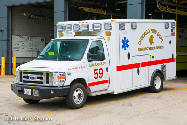 Chicago FD Ambulance 59