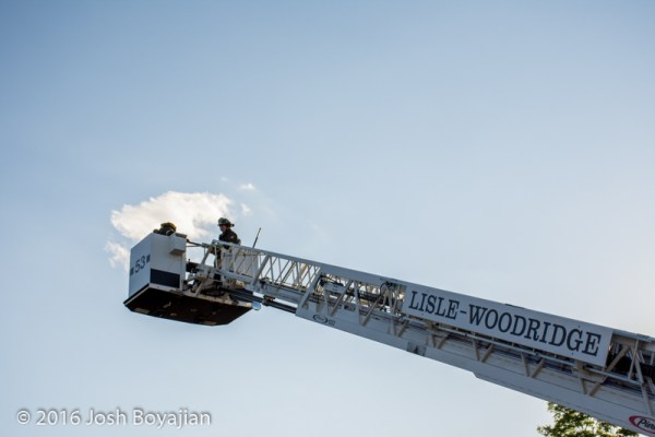 Lisle-Woodridge FPD fire truck