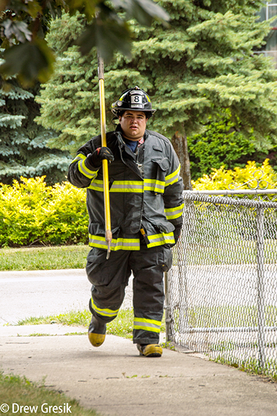Forest View firefighter