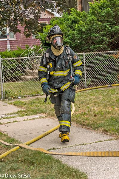 firefighter in Stickney IL