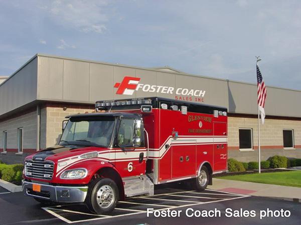 Glenview FD Ambulance 6