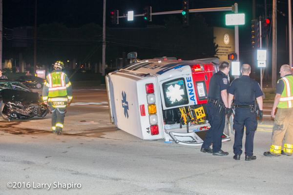 Stryker ambulance cot after ambulance crash
