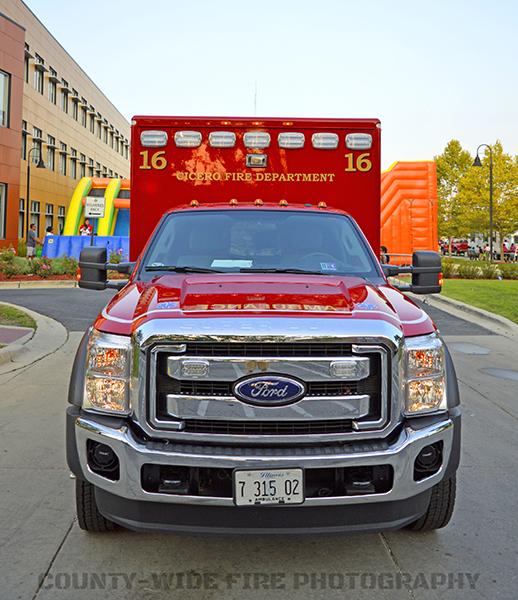 Cicero FD Ambulance F16