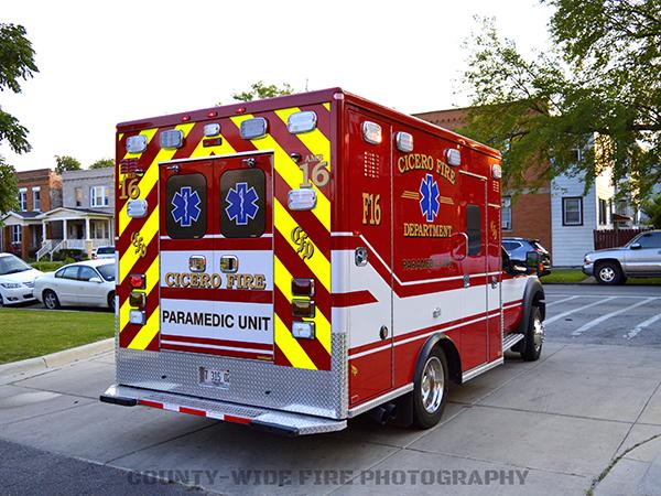 Cicero FD Ambulance F16 AEV