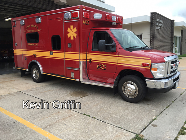 Palos Heights FPD Ambulance 6422