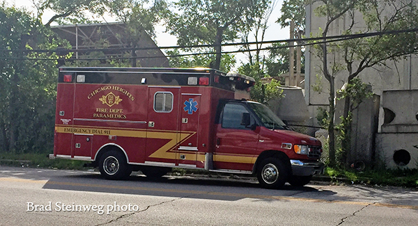 Chicago Heights FD ambulance