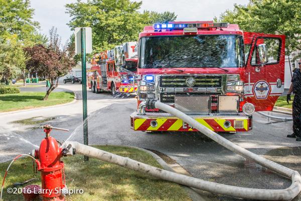 Wheeling FD Rosenbauer fire trucks