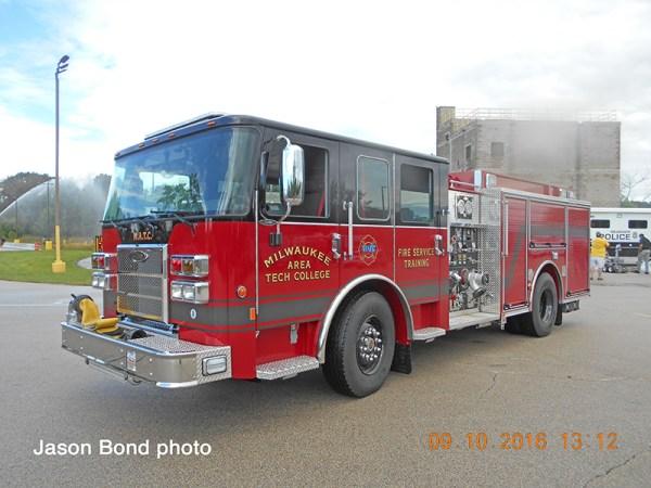 Piere Saber fire engine