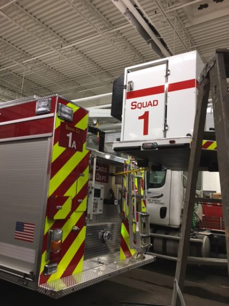 new units for Chicago FD Squad company