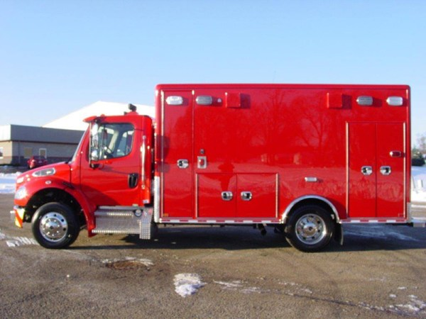 new ambulance for the Wheeling FD