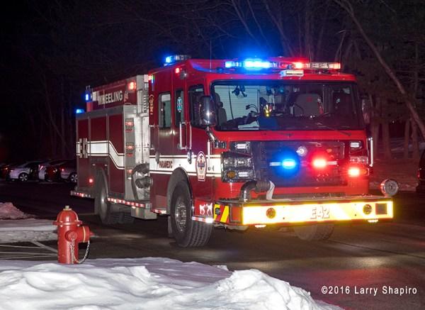 Rosenbauer Commander fire engine