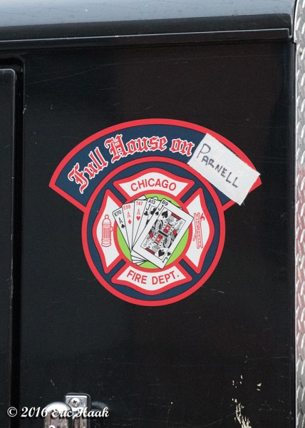 Chicago FD company decal