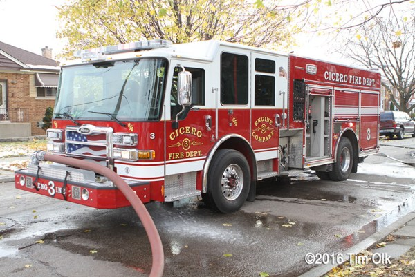 Cicero FD fire engine