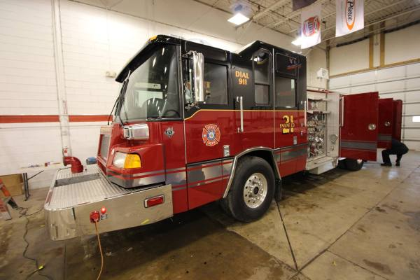 Hoffman Estates FD Engine 21