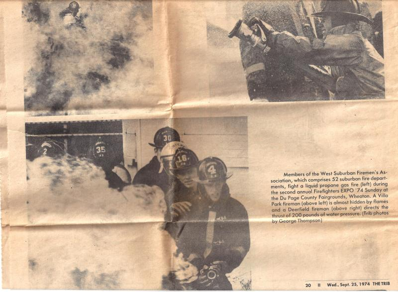 Chicago Tribune suburban edition nes clipping from 9/25/74