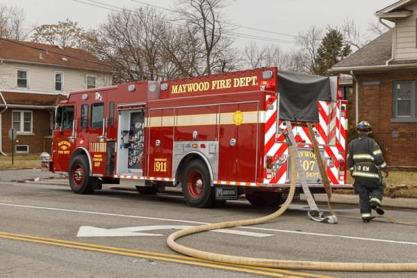 Maywood FD Engine 507