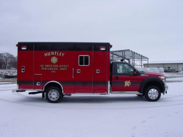 Huntley FPD ambulance