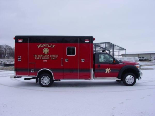 Huntley FPD ambulance