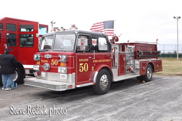 vintage Pirsch fire engine