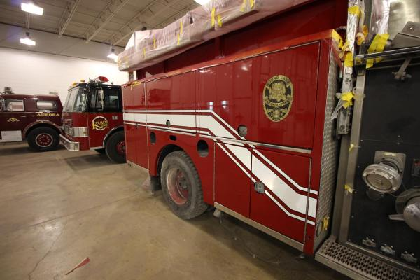 Round Lake FPD fire engine