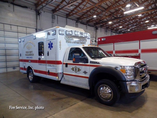 Chicago Heights Ambulance 687