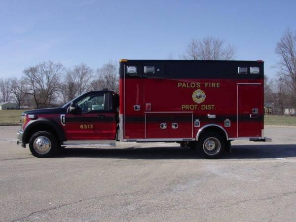 Palos FPD ambulance