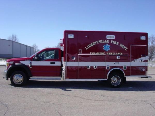 Horton Type I ambulance on Ford F550 chassis