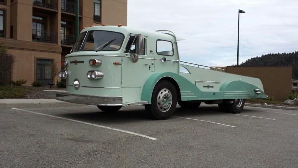 American LaFrance converted transporter