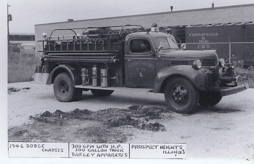 1946 Dodge/Darley 300/500 fire engine