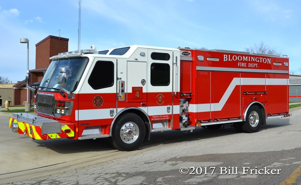 Bloomington FD Engine 4