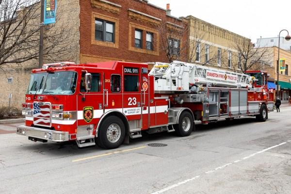 Evanston FD Truck 23