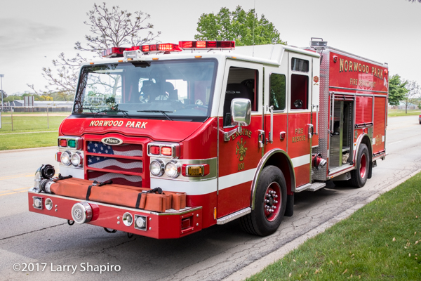 Norwood Park FPD Engine 101