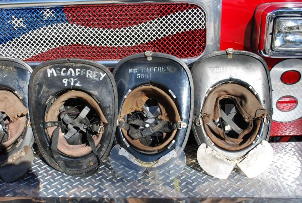 CFD helmets from the Movie Backdraft